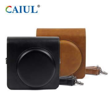 Vintage Instax SQ6 PU Leather Camera Case