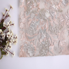 20 Years Factory for Clothing Lace Fabric Multicolor Flower Embroidery On Nylon Korea Mesh export to South Africa Factory