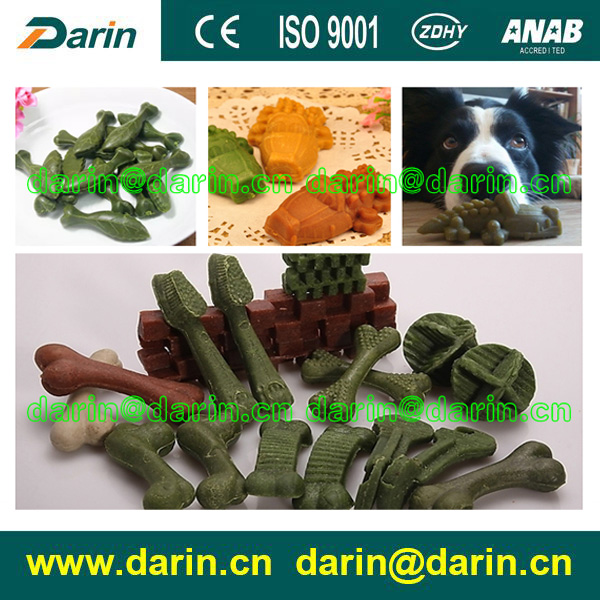 Injection Molded Pet Chewing Snack Making Machine