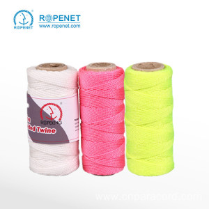 Super Lowest Price for Colorful Braided Twine Wholesale Nylon Braid Twine Good For Packing export to Jamaica Factory