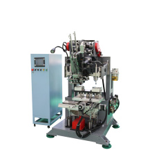 High speed plastic cleaning brush drilling tufting machine