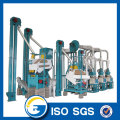 15 ton per day maize flour milling machine
