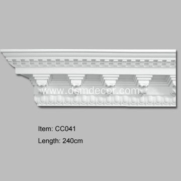 Big Size Decorative PU Cornices