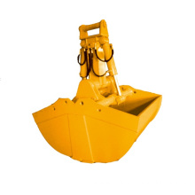 8-12T 0.6CBM excavator mini clamshell bucket attachment
