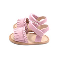Lovely Mix Color Scorpion And Tassel Baby Sandals