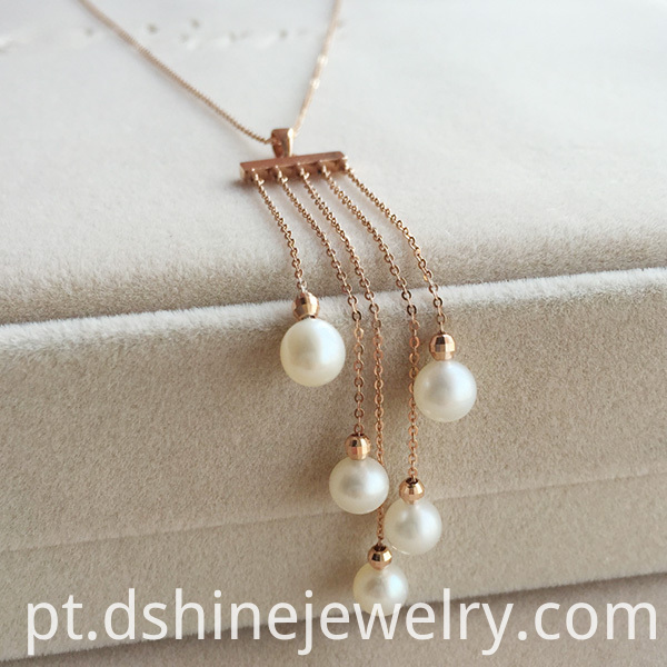 6mm Natural Pearl Necklace