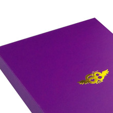 Custom Luxury Purple Handmade Paper Box
