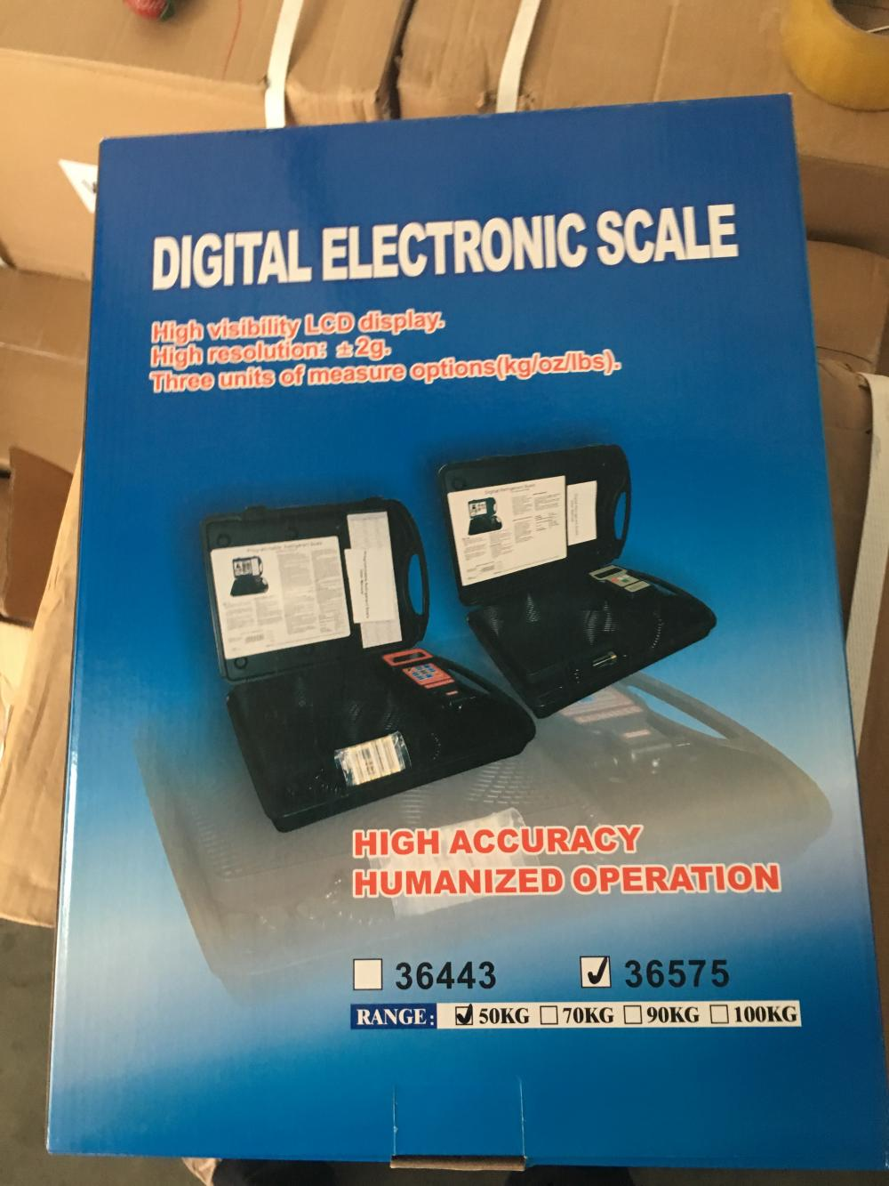 Big capacity and high accuracy charging scale