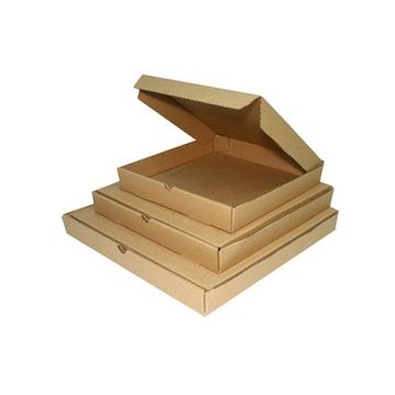 wholesale custom brown kraft carton corrugated pizza box