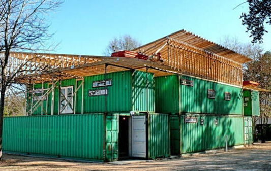 Container Building Prefabricated