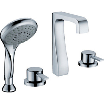 Bathtub Shower Mixer Faucet with Hand Shower