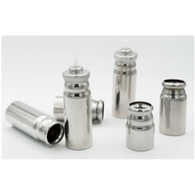 Aluminum canisters MDI can