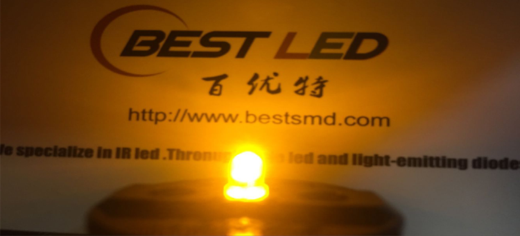3mm yellow led