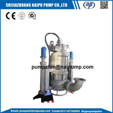 Centrifugal submersible slurry pump for river sand