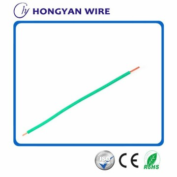 single conductor copper 1mm2 pvc cable