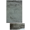 Thin Polyester Shaggy Rug with Long pile mix color