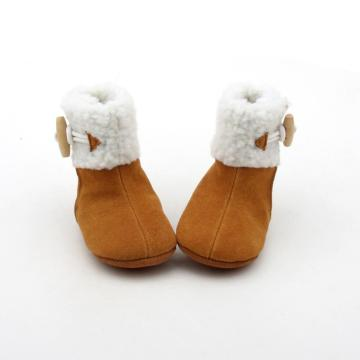 Wholesale Baby Boots Handmade Baby Leather Boots