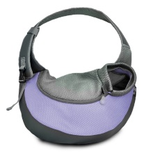 Leading for Travelling Pet Backpack Lilac Large PVC and Mesh Pet Sling supply to India Manufacturers
