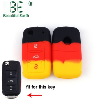 2018 Multicolor Volkswagen Series Car-styling 3 Buttons