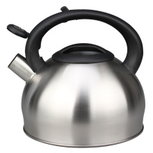 Arc Shape Plastic Handle Whistling Kettle