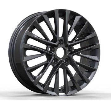 Black Pianted Toyota Replica Wheels