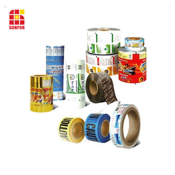 Moisture Proof Feature Sealable Printied Roll Film