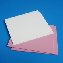 Personlized Products for Insulation Alumina Ceramic Substrates Well polished pink alumina ceramic substrate supply to Germany Suppliers