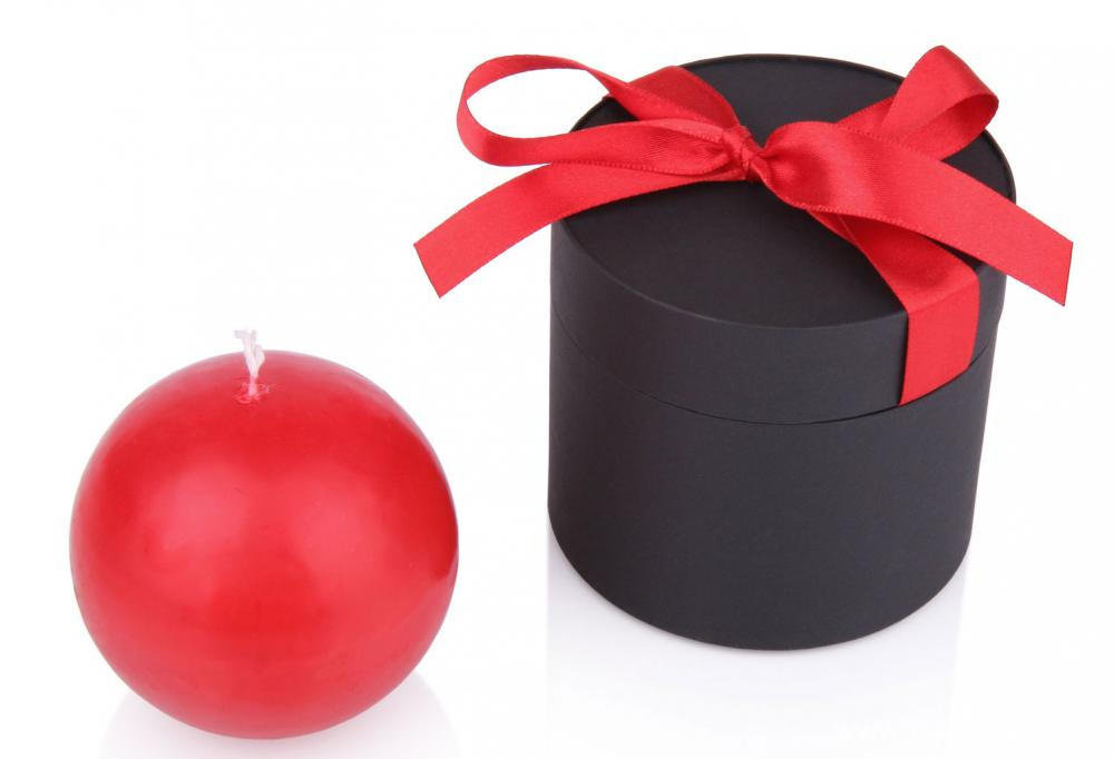 Wedding Favor Cute Round Candy Packaging Box
