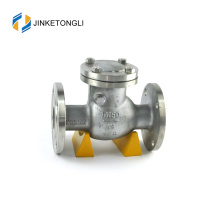 JKTLPC045 rubber carbon steel non return disc type check valve