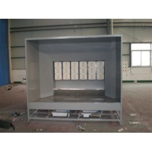spray powder coating booth