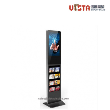 Digital Machine Player Stand Brochure Holder