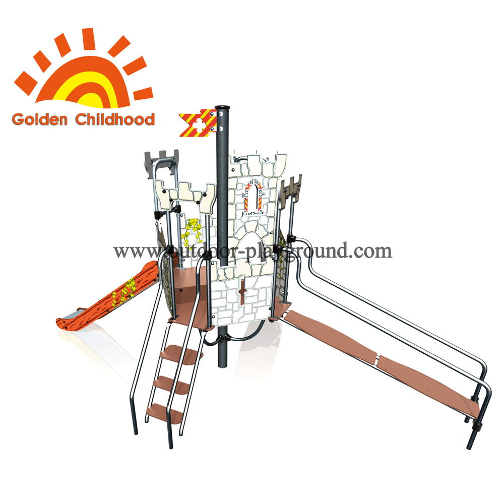 Climbing Castle Outdoor Playground Facility For Children