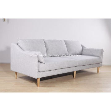 modern classic design wood sofa