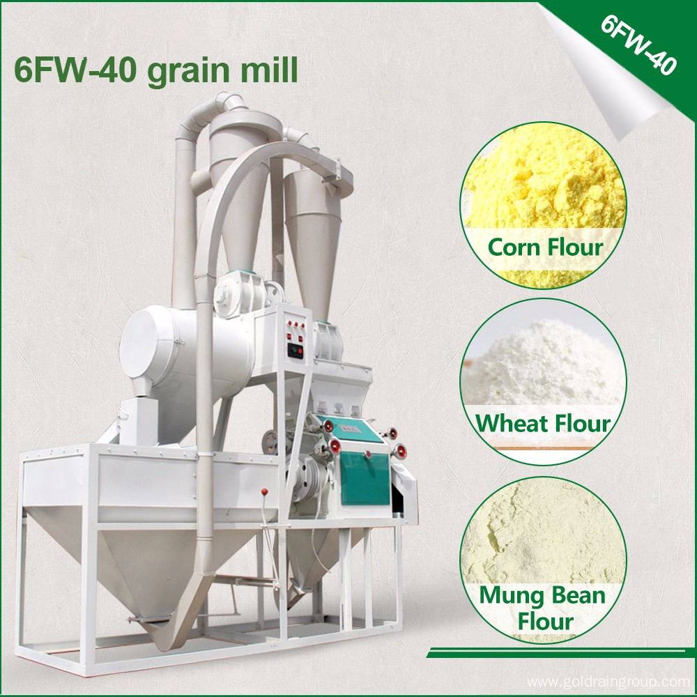 Home use small scale grain mill