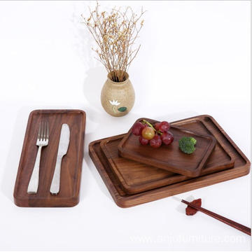 Hot New Products for Wood Serving Tray Different size wood tray restaurant wooden food serving trays export to Austria Wholesale