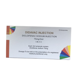 GMP Diclofenac Sodium Inj 75mg/3Ml