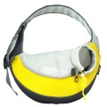 Yellow PVC and Mesh Pet Sling