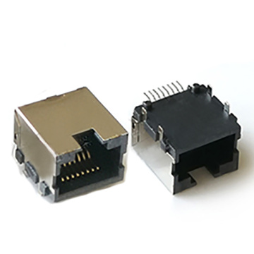 RJ45 SIDE ENTRY W/SHIELD WITHOUT EMI&LED