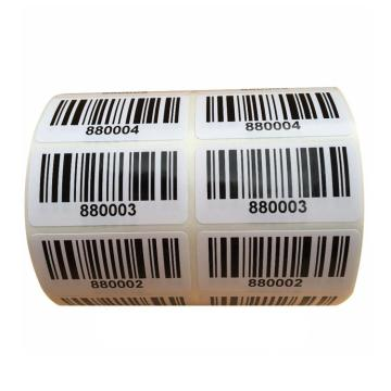Custom High Quality Roll Barcode Adhesive Label Sticker