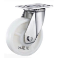 4 inch  stainless steel bracket  heavy duty rigid  PA caster without  brake