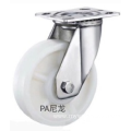 3  inch Stainless steel bracket  PA medium duty  casters without  brakes