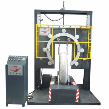 Real Tire wrapping machine