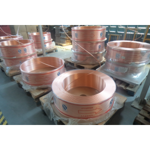 High reputation for for Air Conditioner Copper Pipe Hot sale refrigeration copper tube supply to Sweden Suppliers