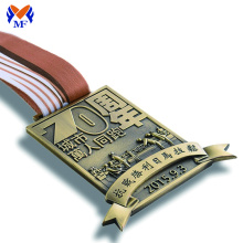 China supplier OEM for Marathon Medal,Gold Medal,Marathon Finisher Medals Manufacturer in China Best finisher medals custom running awards for sale supply to Saint Vincent and the Grenadines Suppliers
