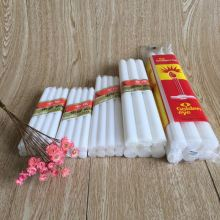 Free sample for White Fluted Wax Candle High Quality 65G White Votive Plain Candles export to Norfolk Island Importers