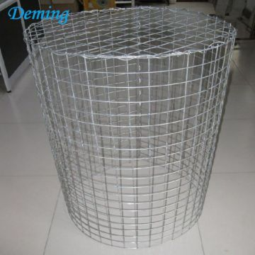 Hot Dipped Galvanized Gabion Basket with Stone