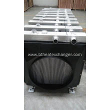 Free sample for Industrial Oil Coolers Aluminum Radiators for Combine Harvester supply to Guatemala Manufacturer