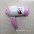 New Arrival 1200W Foldable Cartoon Children Hairdryer