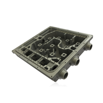 Communication filter housing die casting moulds