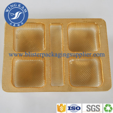 Single Plastic Packing Tray For Cup Cake
